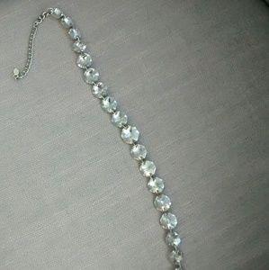 Aldo 'plastic diamond' necklace